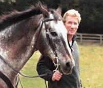 Richard Gere and his horse