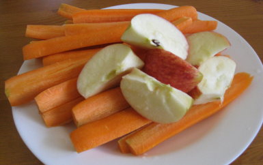 carrots apples
