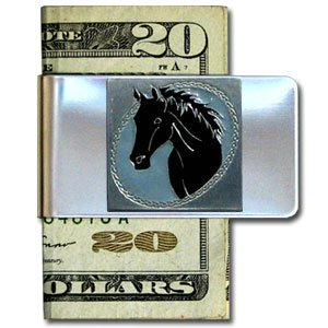 horse money clip