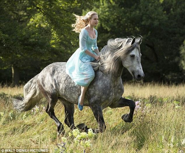 cinderella on a horse