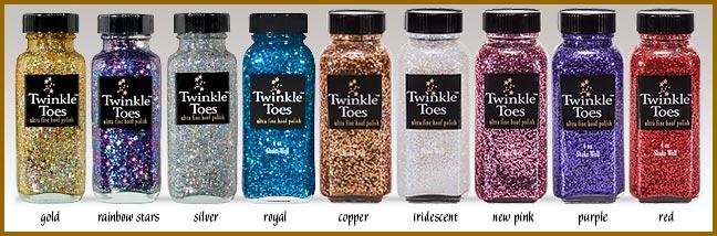 twinkle toes hoof glitter