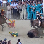The cruelty of the Palio Horse Race in Italy