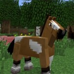 Minecraft adds horses to the game
