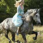 Disney's live action Cinderella rides bareback and no bridle